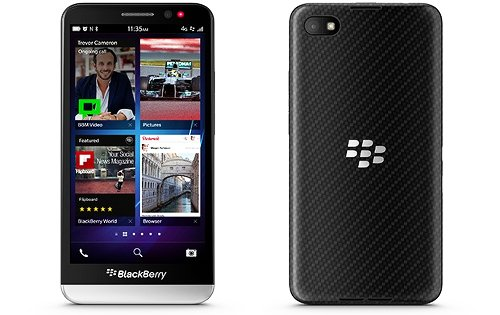 mejor diseño blackberry 10 bbz30