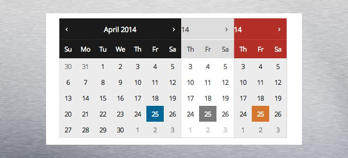 cambiar diseño selector de fechas wordpress