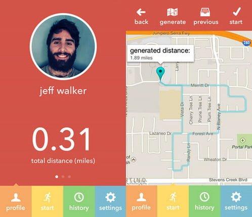 milemapper aplicacion corredores iphone