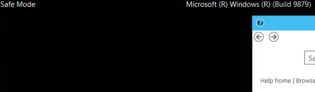 modo seguro en windows