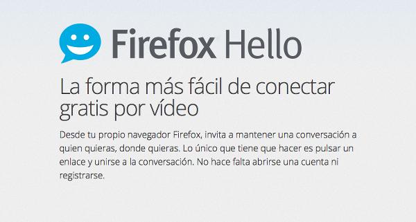 mozilla firefox hello