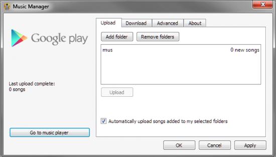 music manage google play music