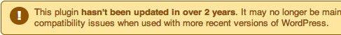 no se ha actualizado plugin wordpress