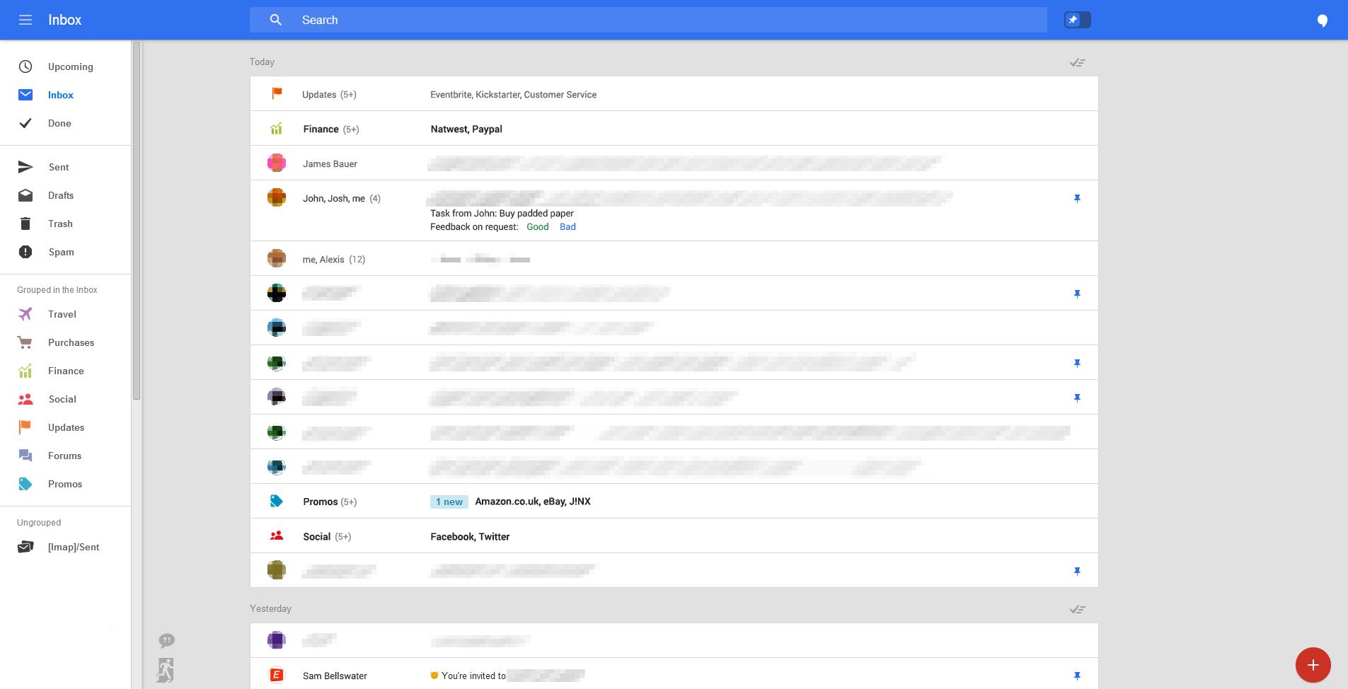 nuevo diseño de gmail google