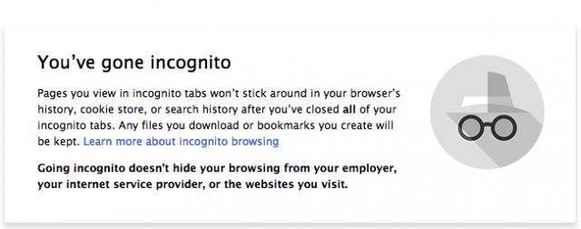 nuevo diseño modo incognito google chrome
