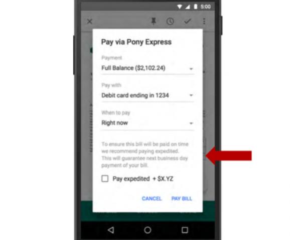 pagos desde google