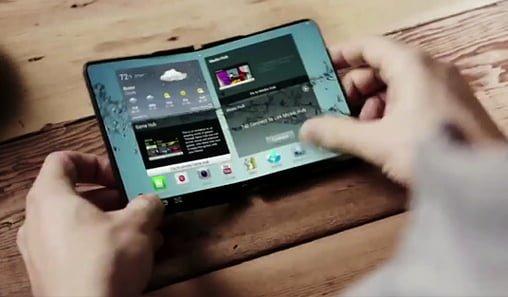 pantalla flexible aulas del futuro