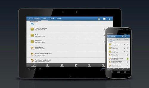 pdf en un smartphone