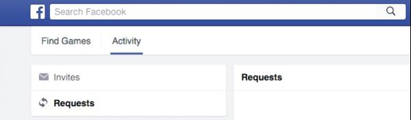 peticiones juegos facebook