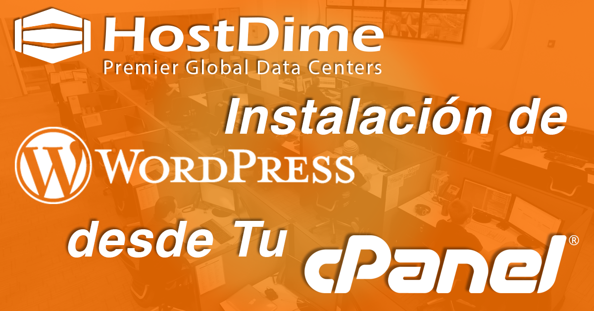 WordPress desde Tu cPanel