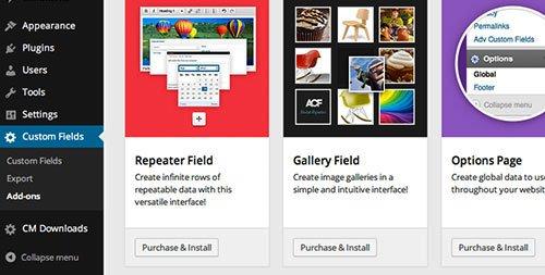 plugin anuncios submenu