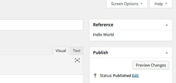 posicion cuadro meta wordpress