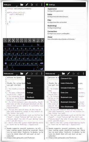 quoda editores de código para android