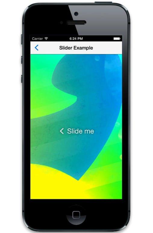 ratchet slider web app