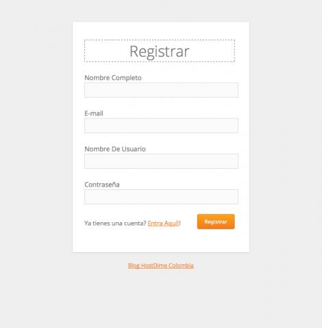 registro con php y mysql
