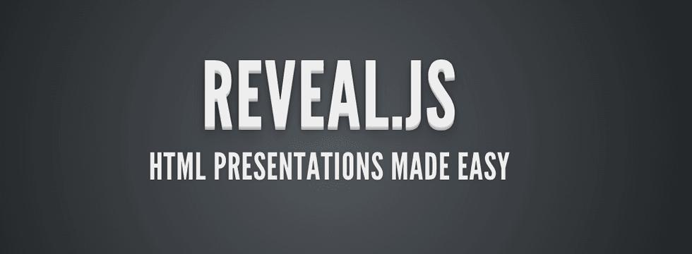 Realizar Impresionantes Presentaciones En HTML Con Reveal.js