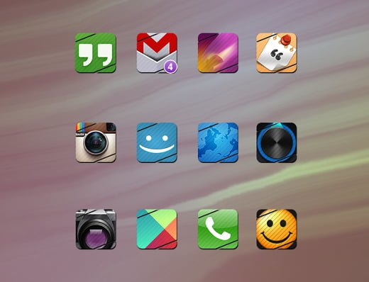 slash icon pack Android