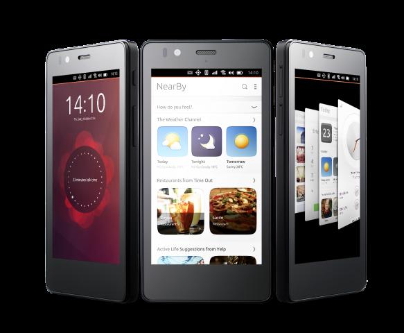 smartphone con ubuntu movil