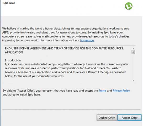 software malicioso utorrent