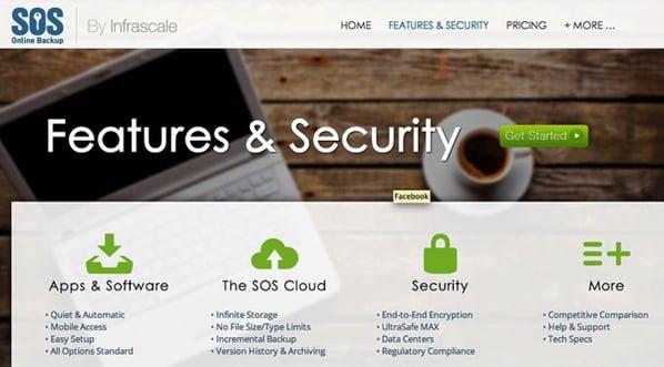 sos-online-backup proveedor cloud