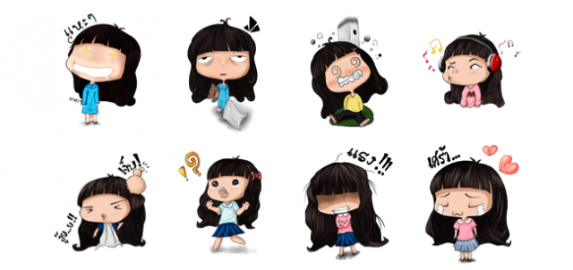 stickers para line en android