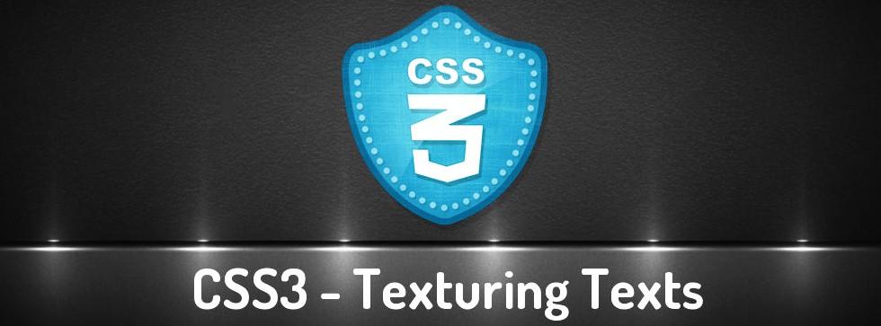 Dar Textura A Los Textos Con CSS