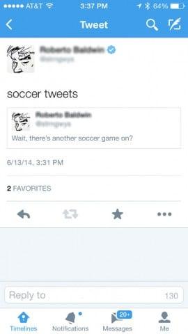 tweets dentro de tweets