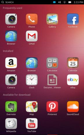ubuntu touch en smartphone