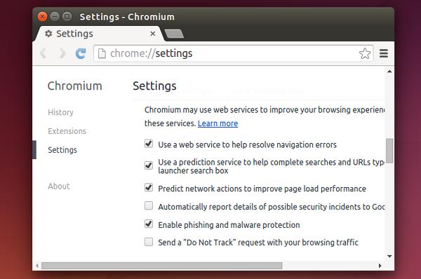 usar chromium