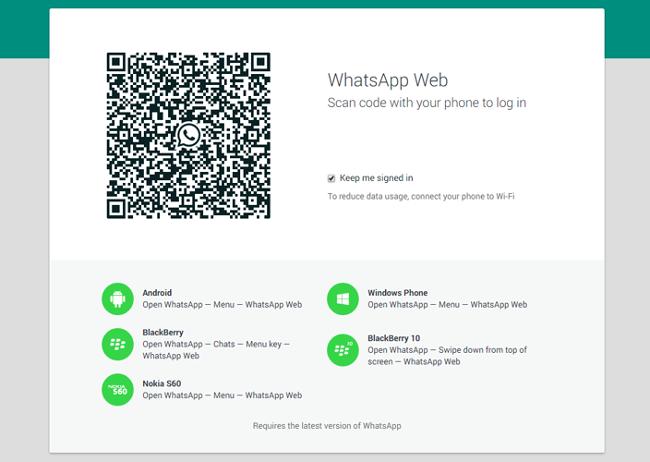 usar whatsapp en el navegador web