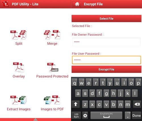 utility pdf para smartphone y tablet
