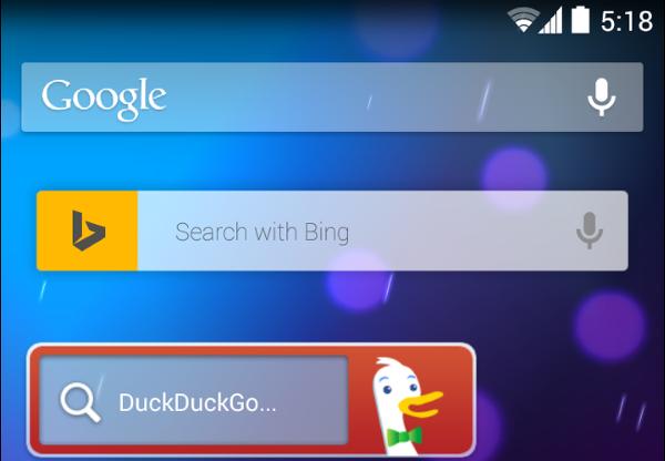 varios buscadores en android