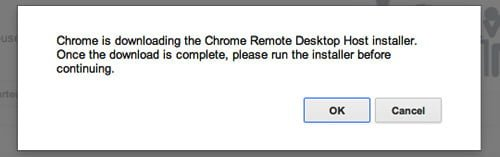 ventana descarga chrome remote desktop mac