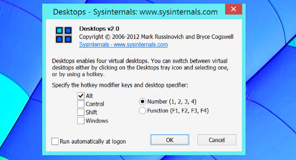 virtual desktops configuracion