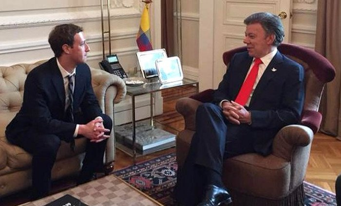 zuckerberg en colombia